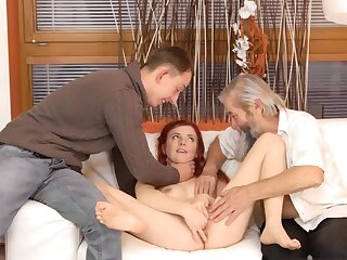 Outright mom and boss's sprog eat pussy Unexpected