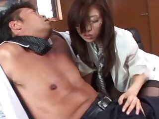 Fervent fucking standing b continuously a boss and his cock hungry secretary