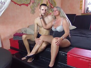 His first-ever mummy! barely in force yr elderly youthfull pipe humped me doll-sized condom!